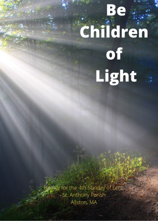 Be Children of Light